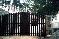 Porte rustique
