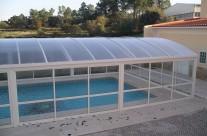 White pool cover III