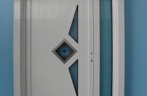 Door with ornaments