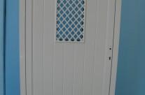 Door with net