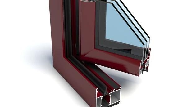 Aluminium framework